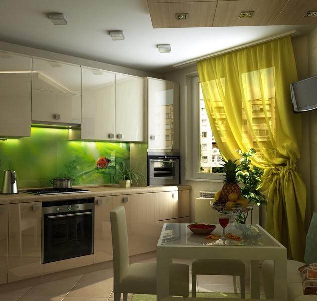 Ремонт на кухне 8 кв.м своими руками