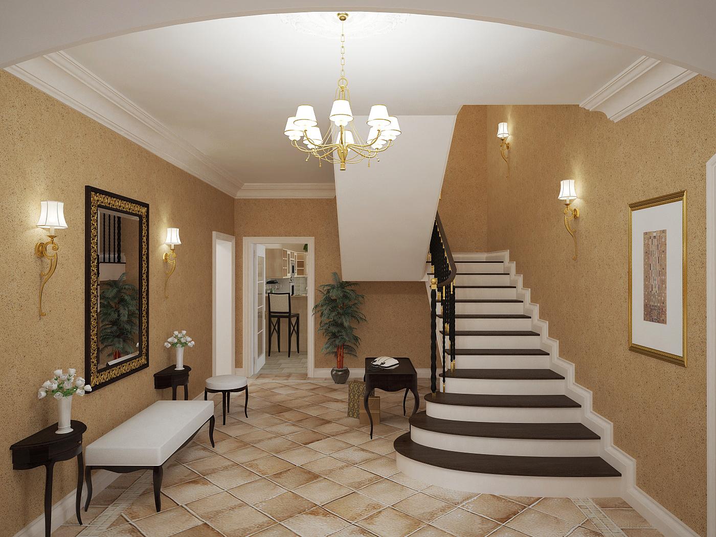 Дизайн дома внутри фото